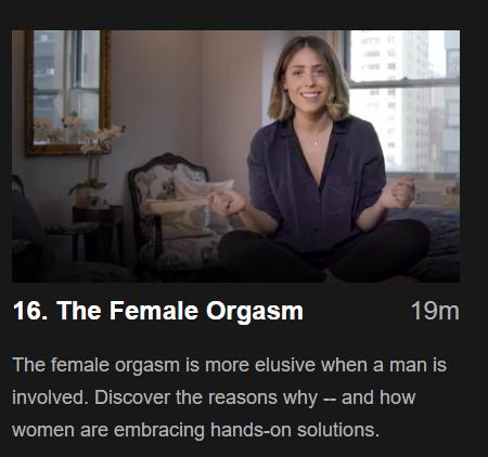 Otrolig kvinnlig orgasm