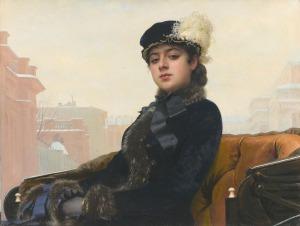 Kramskoy_Portrait_of_a_Woman